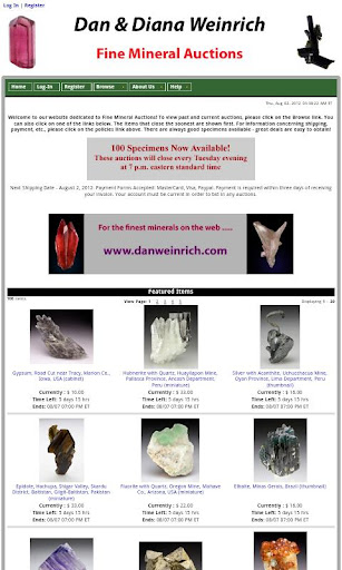 Fine Mineral Auctions