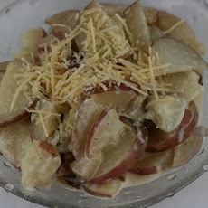 CrockPot Horseradish Scalloped Potatoes