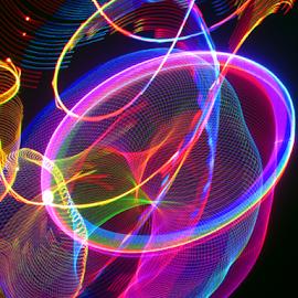 light dispenser by Jim Barton - Abstract Patterns ( laser light, colorful, light design, light dispencer, laser design, laser, laser light show, light, science )