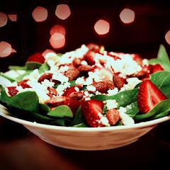 Strawberry Fields w/ Feta Salad