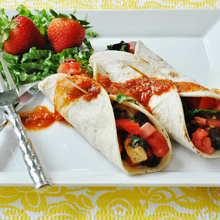Vegan Breakfast Burrito – Kick-Start Monday!