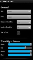 Screenshot of A Flippin Flip Clock