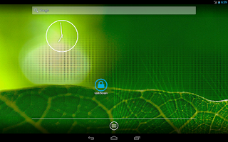 Screenshot of Screen lock
