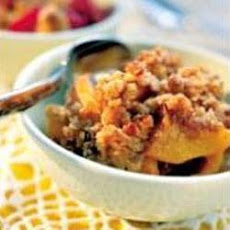 Walnut Apple Crumble