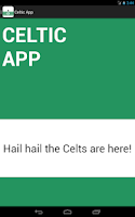 Screenshot of Celtic FC App