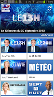 Screenshot of MYTF1News