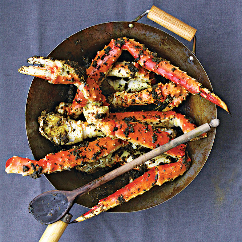 Singaporean Black Pepper Crab Legs