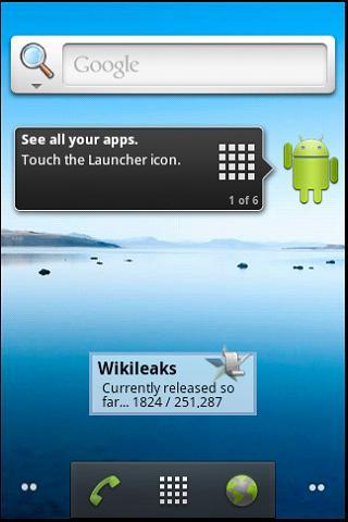 Wikileaks Widget