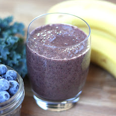 Blueberry Banana Kale Smoothie
