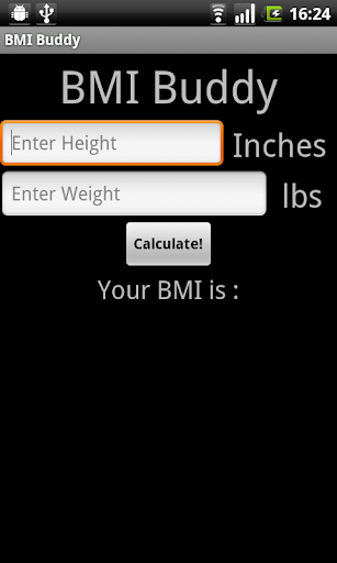 BMI Buddy a BMI Calculator