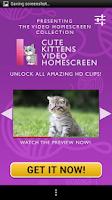Screenshot of Kittens Free Homescreen