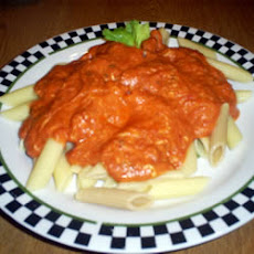 Penne with Pink Vodka Sauce