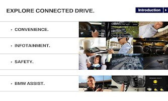 Screenshot of ​Explore BMW ConnectedDrive