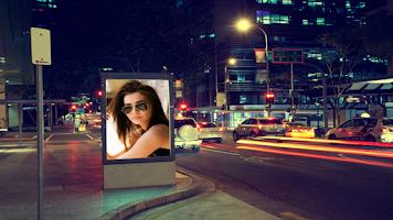 Screenshot of Hoardings Photo Frame