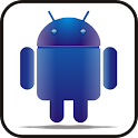 Droid blue glow doo-dad icon