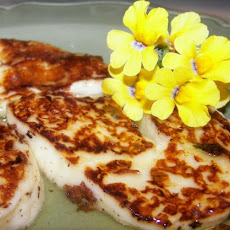 Seared Lemon Halloumi
