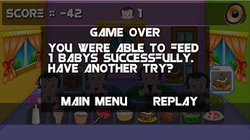Screenshot of Feed The Baby HD