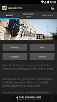 Screenshot of The Woodcreek App