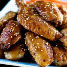 Super Sesame Chicken Wings