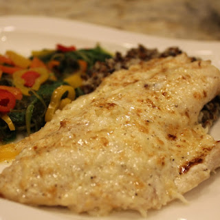 Easy Broiled Branzino