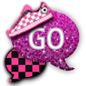 GO SMS - Punk Rock Girl icon