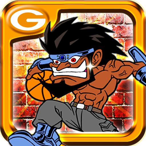 瘋狂的扣籃 體育競技 App LOGO-APP試玩