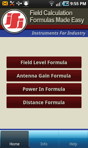 IFI Field Calculator