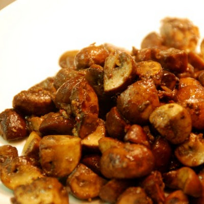 Spicy Sautéed Mushrooms with Anchovy