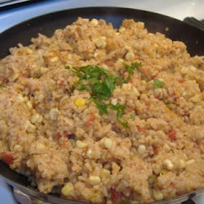 Southwest Rice and Corn Pilaf