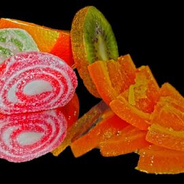 candys with fruits by LADOCKi Elvira - Food & Drink Fruits & Vegetables ( candys )