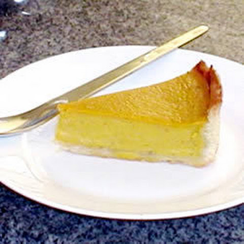 Pumpkin Egg Custard Tart