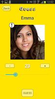 Screenshot of Guess My Age lite