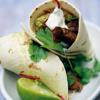 Tortilla Wraps Guacamole Recipes
