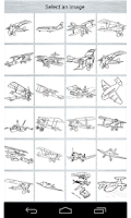 Screenshot of Aircraft Coloring Page