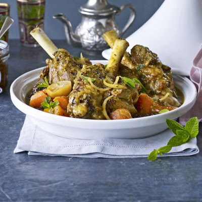 Tagine Of Lamb & Merguez Sausages