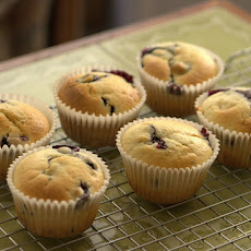 Blueberry Muffins - Fat-Free, Sugar-Free, Cholesterol-Free