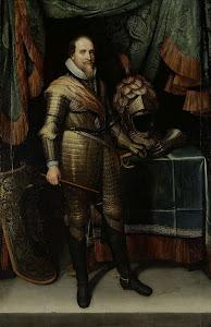 RIJKS: Michiel Jansz. van Mierevelt: Portrait of Maurice, Prince of Orange 1620