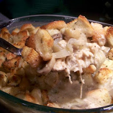 Chicken Sourdough Cobbler