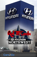 Screenshot of Red McCombs Hyundai Northwest