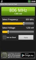 Screenshot of MTK CPU-Control test