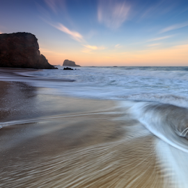 Fifty-Two by Paul Judy - Landscapes Beaches ( california, beach, santa cruz, sunrise, surf, coast, landscape )