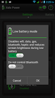 Screenshot of Xolo Power