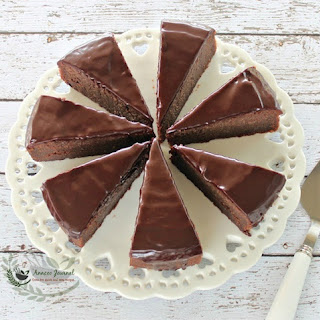 Sinful Double Fudge Nutella Cake with Rum