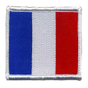 French Patch Flag Sticker icon