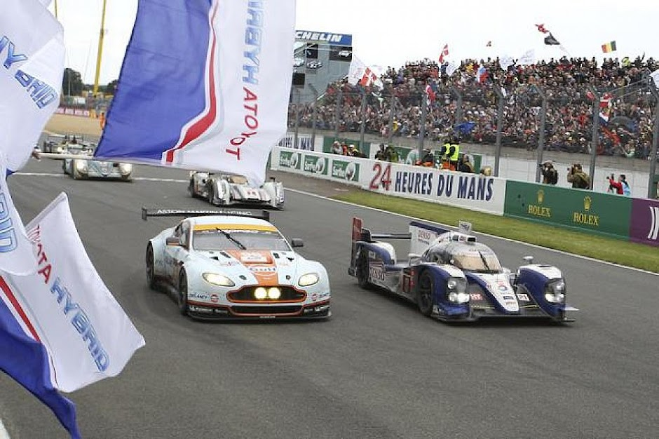 Winning Cars of Le Mans 2013