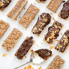 3-Layer Almond Coconut Chocolate Bars