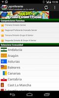 Screenshot of Fútbol Modesto