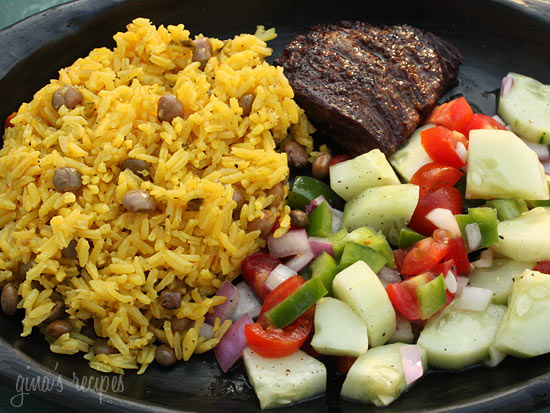 Arroz Con Gandules (Rice and Pigeon Peas) Recipe | Yummly