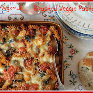 Roasted Veggie Pasta Bake #BettaRecipe