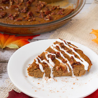 High Protein Crustless Pumpkin Pie (Gluten-free & Paleo)